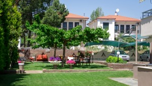 Michel Mar Studios Apartments Paradisos Neos Marmaras Halkidiki garden-001