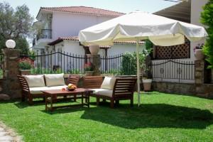 Michel Mar Studios Apartments Paradisos Neos Marmaras Halkidiki garden-006