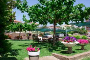 Michel Mar Studios Apartments Paradisos Neos Marmaras Halkidiki garden-007